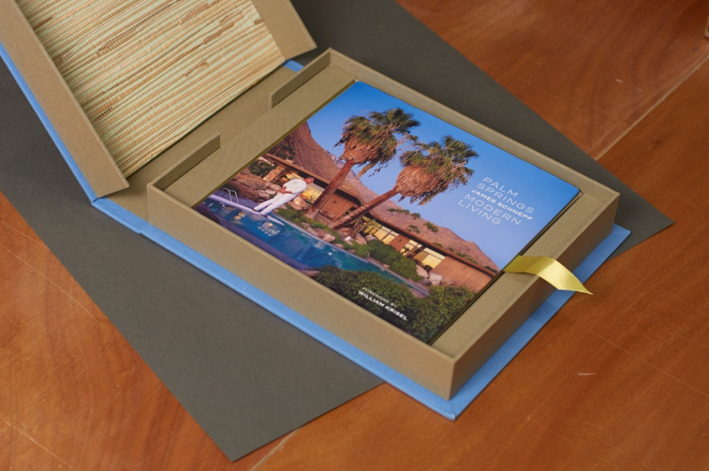 palm springs, bella forte designs, photographer, custom clamshell box, book, prints, artist