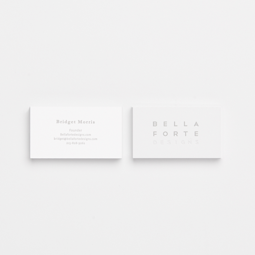 Business Card 2-Color