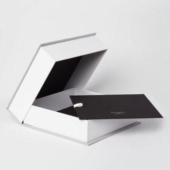 wedding keepsake box, bella forte designs, clamshell box
