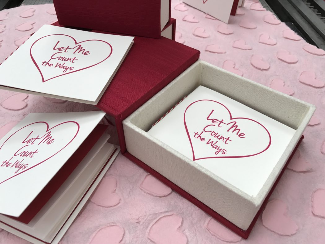 valentine's day, bella forte designs, gift, ready made, clamshell box